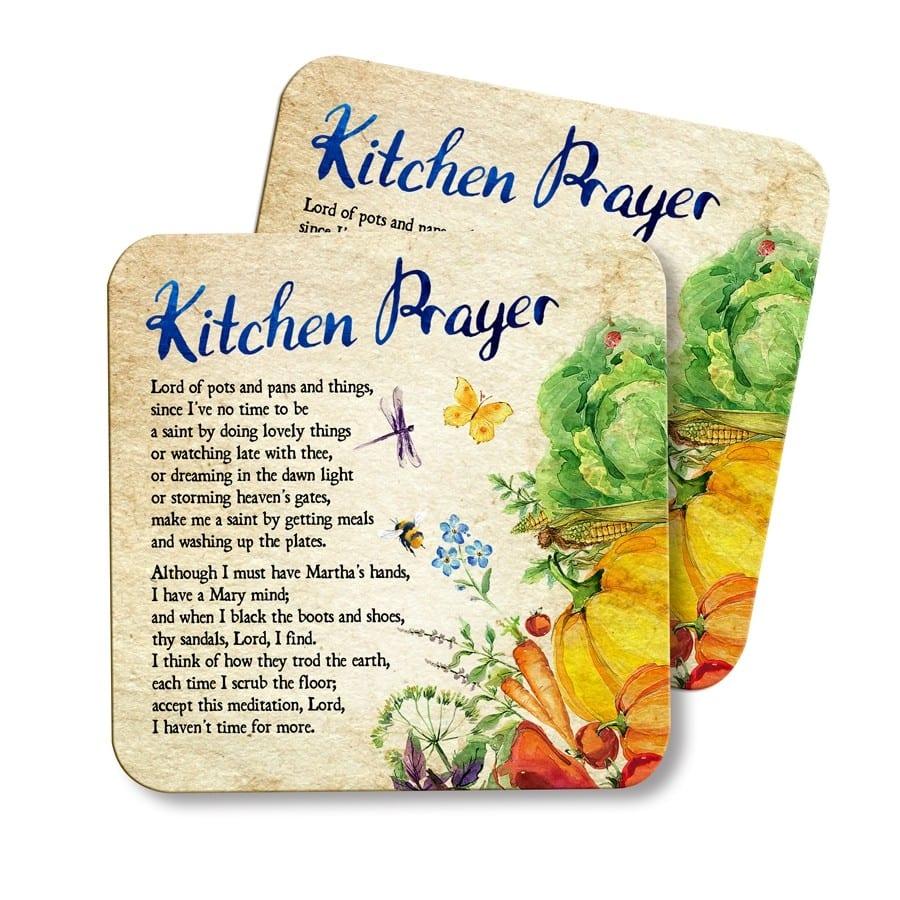 Kitchen Prayer Coaster St Andrews Bookshop